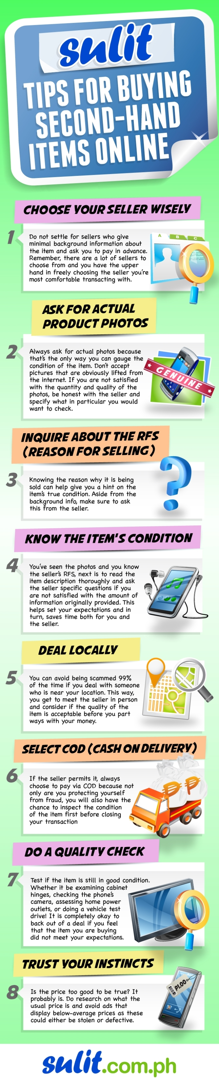 Tips for Buying Second-Hand Items Online